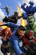 Avengers Vol 5 43 Textless