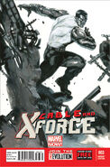 Cable and X-Force Vol 1 3 Colossus Variant