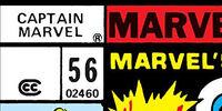 Captain Marvel Vol 1 56