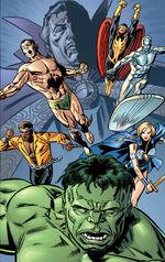 Defenders (Earth-9997) Universe X Vol 1 1