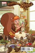 Unbeatable Squirrel Girl Vol 1 3 Women of Marvel Variant