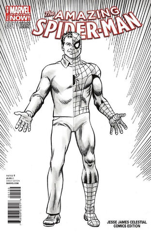 File:Amazing Spider-Man Vol 3 1 Jesse James Celestial Comics Exclusive Variant.jpg