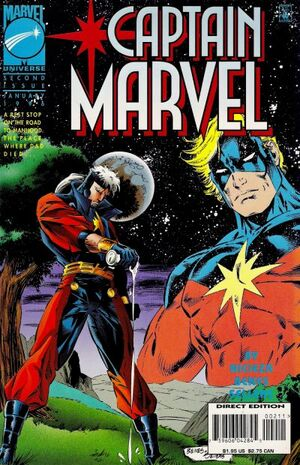 Captain Marvel Vol 3 2