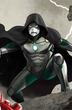 Victor von Doom (Earth-616) from Infamous Iron Man Vol 1 3 Epting Variant cover