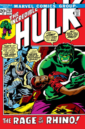 Incredible Hulk Vol 1 157