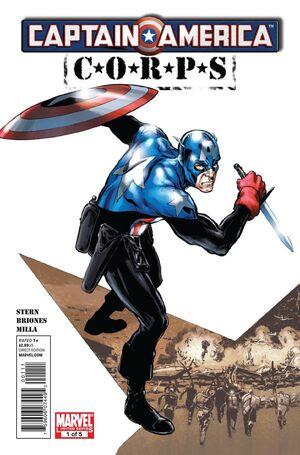 Captain America Corps Vol 1 1