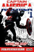 Captain America Vol 7 1 Special NYCC Retailer Exclusive Variant