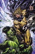 World War Hulk Vol 1 5 Textless