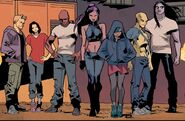 Mach Two's Renegades Team (Earth-1610) from Ultimate Comics X-Men Vol 1 25