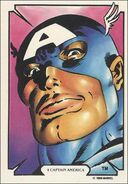 Steven Rogers (Earth-616) from Mike Zeck (Trading Cards) 0001
