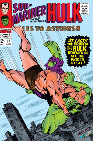 Tales to Astonish Vol 1 87