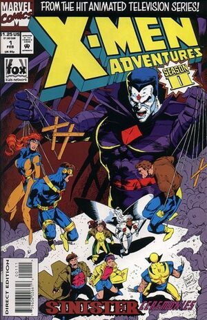X-Men Adventures Vol 2 1