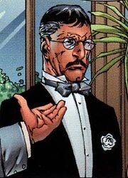 Travis (Worthington's butler) (Earth-1610) Ultimate X-Men Vol 1 40