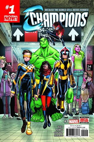 File:Champions Vol 2 1 Second Printing Variant.jpg
