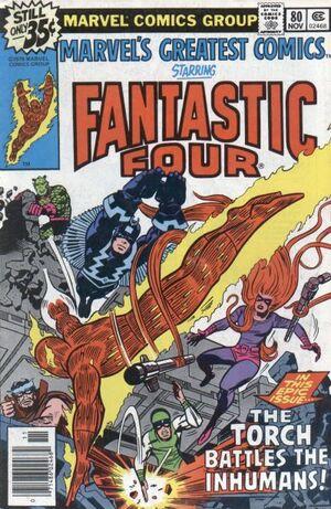 Marvel's Greatest Comics Vol 1 80