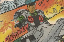 Nine (Eugenix) (Earth-616) from New Warriors Vol 1 63 001