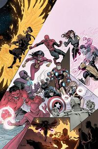 Avengers Vol 4 34 Rivera Variant Textless