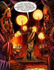 Lion Cult (Earth-616) from Black Panther Vol 5 2 0001