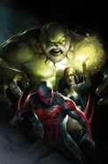 Spider-Man 2099 Vol 2 10 Textless