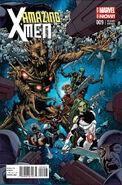 Amazing X-Men Vol 2 9 Guardians of the Galaxy Variant