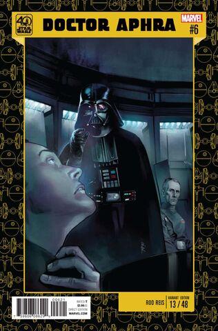 File:Doctor Aphra Vol 1 6 Star Wars 40th Anniversary Variant.jpg