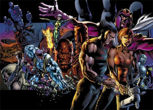 X-Men Age of Apocalypse One Shot Vol 1 1 Textless