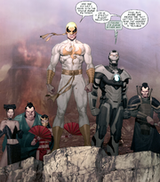 Immortal Weapons (Earth-616) Iron Man 2.0 Vol 1 6