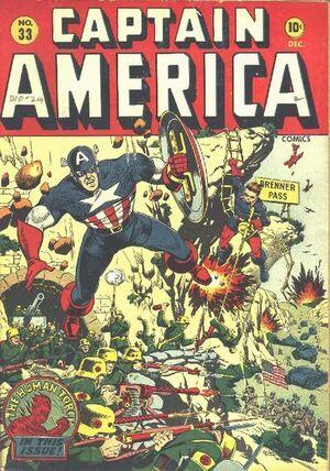 Captain America Comics Vol 1 33