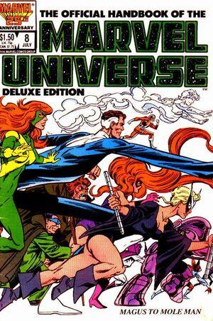 Official Handbook of the Marvel Universe Vol 2 8