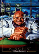 Wilson Fisk (Earth-616) from Marvel Masterpieces Trading Cards 1992 0001