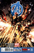 Avengers Vol 5 4 Second Printing