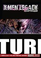 X-Men Legacy Vol 1 235 Textless 3rd Printing Variant
