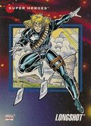 Longshot (Mojoverse) from Marvel Universe Cards Series III 0001