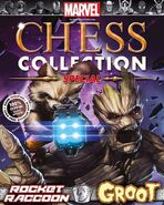 Marvel Chess Collection Special Vol 1 Groot and Rocket Raccoon
