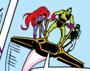 Royal Sky-Sled from Amazing Adventures Vol 2 6 001