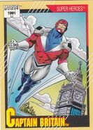 Brian Braddock (Earth-616) from Marvel Universe Cards Series II 0001