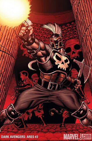 File:Dark Avengers Ares Vol 1 3 Textless.jpg