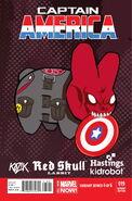Captain America Vol 7 19 Hastings Variant