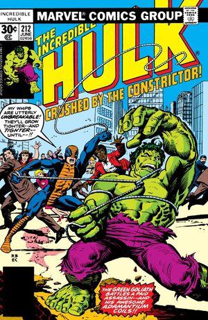 Incredible Hulk Vol 1 212