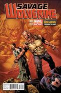 Savage Wolverine Vol 1 6 Wolverine Through the Ages Variant
