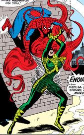Medusalith Amaquelin (Earth-616) versus Spider-Man from Amazing Spider-Man Vol 1 62