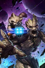 Rocket e Groot 01