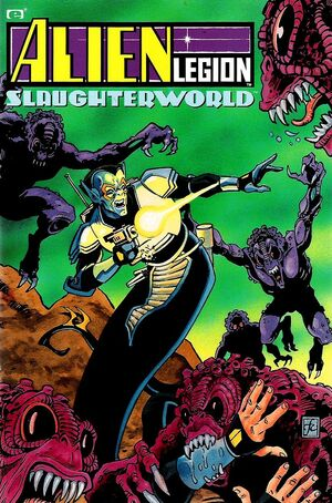 Alien Legion Slaughterworld TPB Vol 1 1