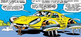 S.H.I.E.L.D. Flying Car from Strange Tales Vol 1 135