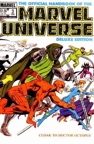 Official Handbook of the Marvel Universe Vol 2 3