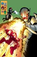 Avengers Vol 5 24.NOW Avengers as X-Men Garbett Variant Textless