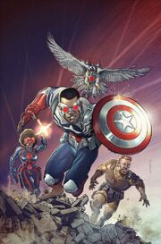 Captain America Sam Wilson Vol 1 9 Textless