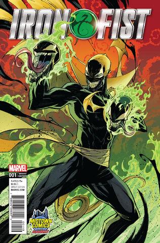 File:Iron Fist Vol 5 1 Midtown Comics Exclusive Venomized Variant.jpg