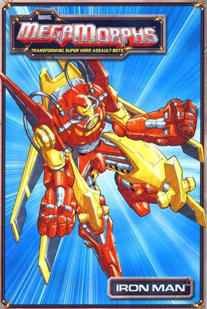 Marvel MegaMorphs Iron Man Vol 1 1