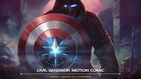 Civil Warrior Motion Comic Marvel Contest of Champions